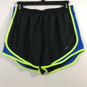Nike Dri FIt Black Workout Shorts Women's SZ Large